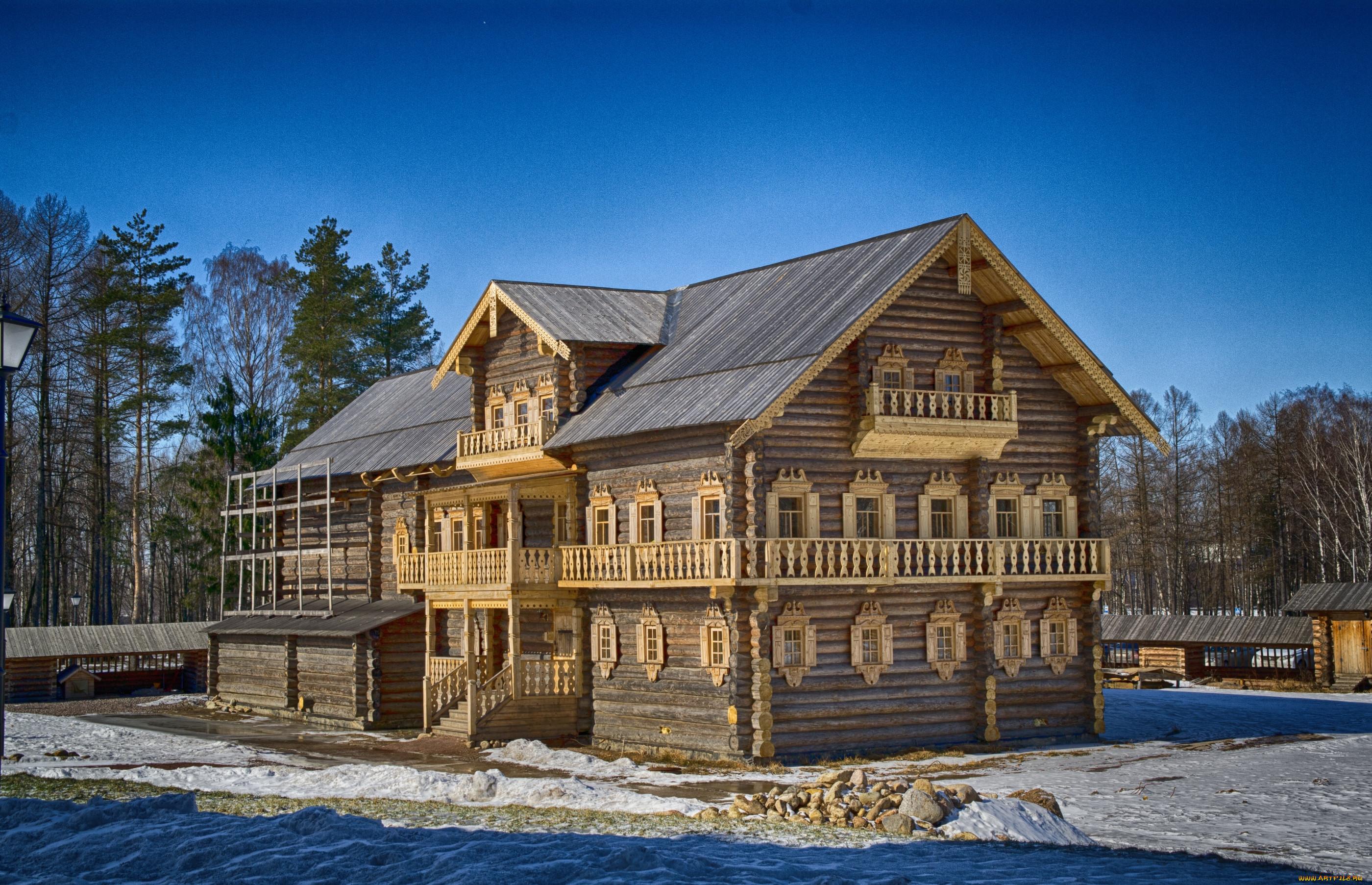 Дом на русском картинка